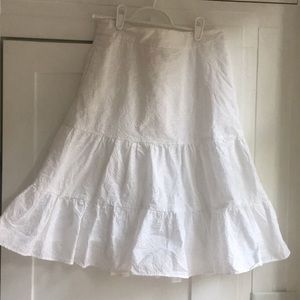 Lilly Pulitzer white Skirt with pockets